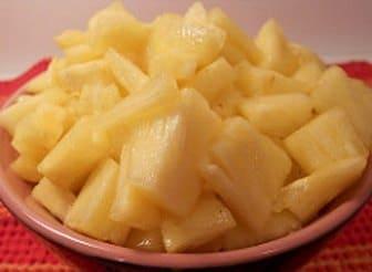 Pineapple digestive